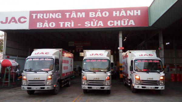 Dịch vụ xe tải JAC